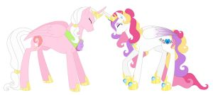 Princess Cadence's Parents by AlexKingOfTheDamned