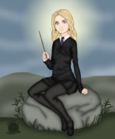 Luna Lovegood by Blackmoonrose13