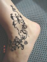 henna tattoo by Danira