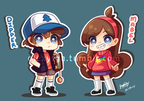 Mystery Twins by SandraGH
