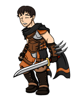Assassin Kellam by FatefulWings