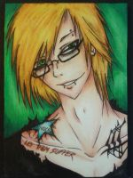 ACEO #002 - Let Them Suffer (Glance) by Jaspara