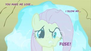 MLP - Two Sides of Fluttershy (Put Your Hoof Down) by MariovsSonic2008