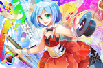 Prize : Magician From The Colorful World by AquaZircon