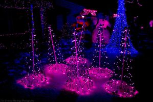 Neon Christmas by LeperConDios