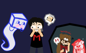 YTS Panel Edit- Mark --- Pester Ken about sprites by Psycho-CandyAddicted