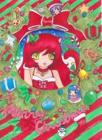 PaigeeWorld Christmas Entry 2 by xXANJUXx13