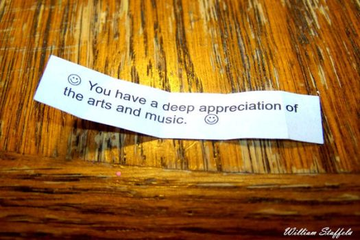 Message in a...Fortune cookie by yaseacabo