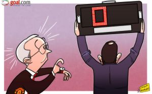 Fergie time finally up at Old Trafford by OmarMomani