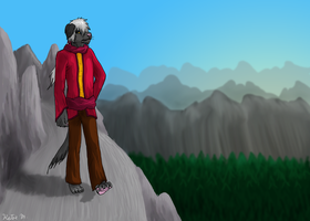 Wanderer - commision by Wolf-Goddess13
