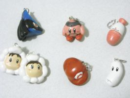 Super Smash Bros Charms by GandaKris