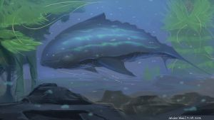 Whisker Whale by Murimu