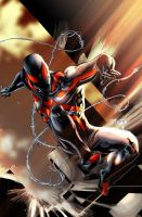 Stealth Spiderman Colored by rapnex