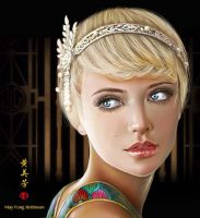 Daisy of Great Gatsby by MayFong
