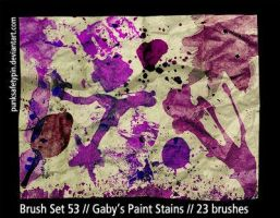 BrushSet53-Gaby'sPaintStains by punksafetypin