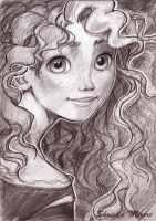 Merida sketch by Shricka