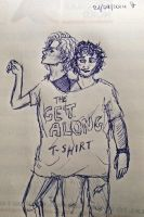 The ''get along'' t-shirt by HeeLash