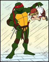 Requested~Raphael and son :) by 1234LERT7Nan2