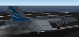 Fictional VFA-153 Super Hornet commission by EricJ562