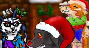 Merry Christmas Collab by RedRoronoa