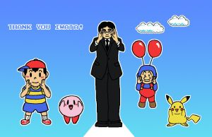 Thank You, Iwata by PleasePleasePepper