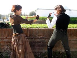 Razors VS Rolling Pin by MiracoliCosplay
