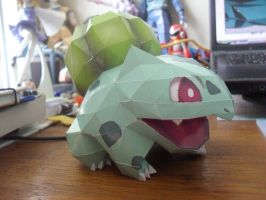 Papercraft - Bulbasaur 03 by ckry