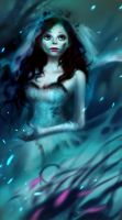 corpse bride--first snow by Junedays