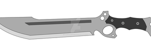 Combat Knife V1.0 (Prop Idea) by OmgDragons