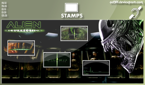 Stamps - 1997 - Alien Resurrection by od3f1