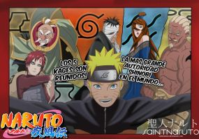 Naruto - All Kages by saintnaruto