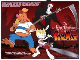 Grim Adventures of Sam and Max by jodi-seer