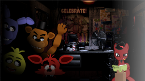 FNAF Youtube Thumbnail for TerrTail by Chumi-chan