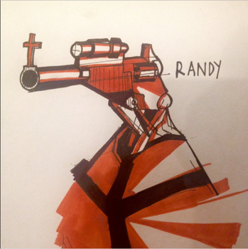 RANDY (my Stand) by VanSame