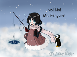 No Mr. Penguin! by LKeiko