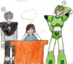 (SCHOOL DRAW) My imagination and... Reactions by Thunderblade2001