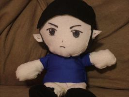 My Spock Plushie by lp-slash-queen