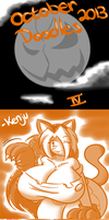 October Doodles 2013: IV by TheEnglishGent