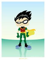 : robin : by monito