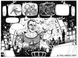 Mission Control Splash Page by PaulHanley