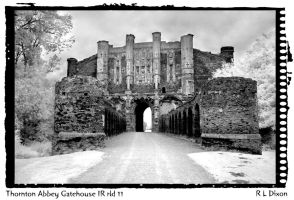 Thornton Abbey gatehouse IR rld 11 by richardldixon