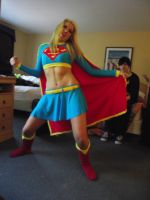 Derp Supergirl by cassichan