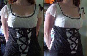 Cute Modified Corset by Spork-Puppy