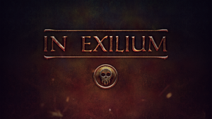In Exilium Title Graphic by GreyPWalker