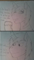 Cobalt Shine Tumblr Question 9 :traditional: by Earth-pony-mischief