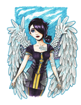 Angel:: Borderlands2 by mushyak-gone-wild