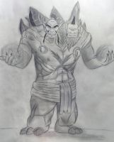 Cho'Gall - World of Warcraft by Hedenus