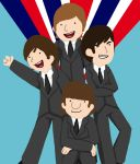 Fab Four: Beatlemania by LittleRainySeasons