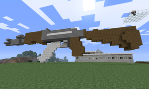 "-Minecraft- AK47 ""3D"" by wRkash77"