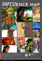 Influence Map 2012 by ochibrochi